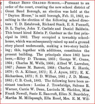 A centennial history of susquehanna county sd principal 1881