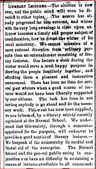 1869 Literary Society 2