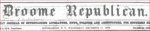 1873 short term spent teaching in LI date page