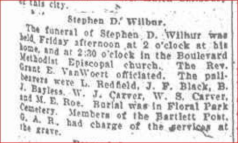 Funeral of Stephen