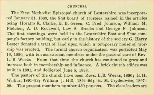 1889 First Methodist Episcopal church 1