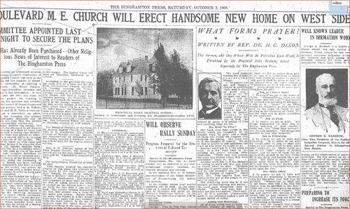 New ME Church Plans