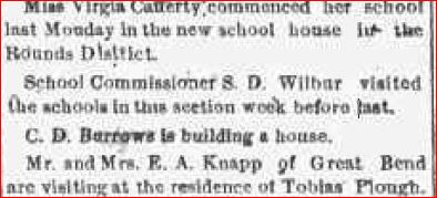 July 23, 1875 Tracy Creek