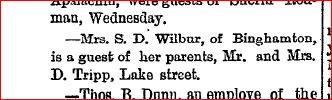 Owego February 25 1887