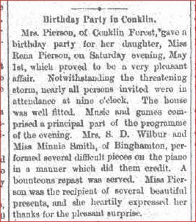Lovina Plays at Birthday Party