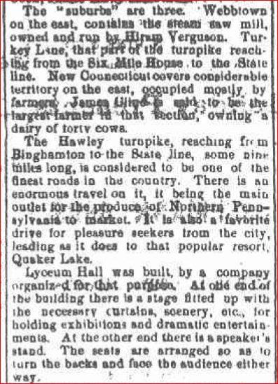 1873 Hawleyton History 1