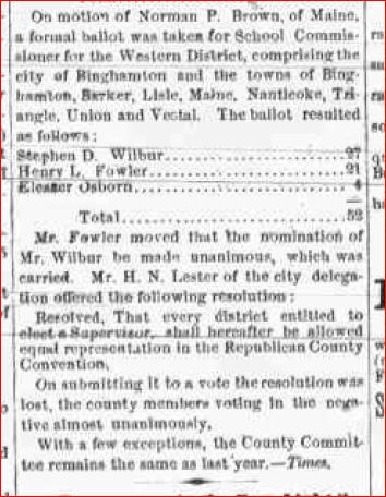 October 10 1874 Republican Committee