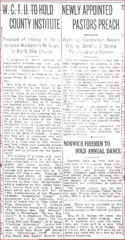 Leoria April 16 1918