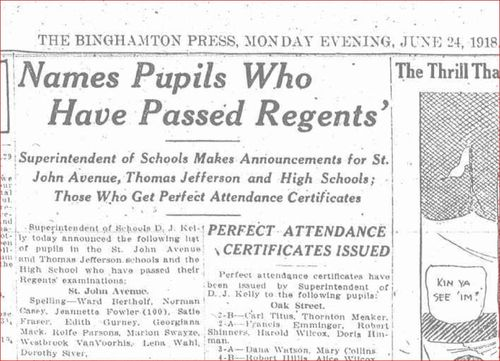 Regents Pupils 1