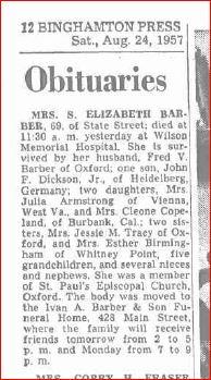 Grandma Dickie Obituary