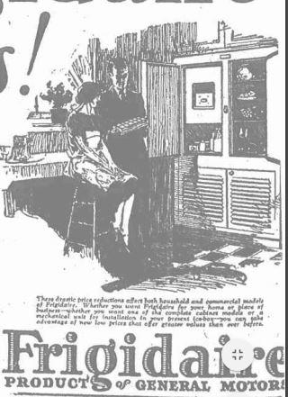 1926 Frigidaire
