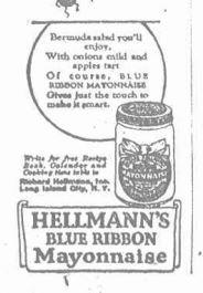1926 Hellmans