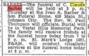 Claude Funeral